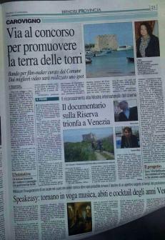 Gazzetta (15 settembre 2015)